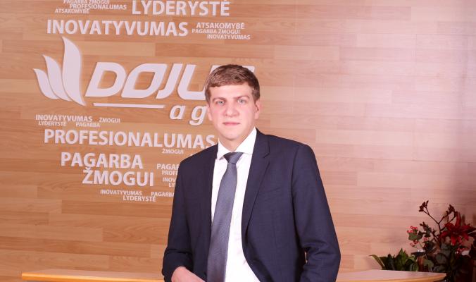 """""""DOJUS"""" įmonių grupės vadovas Donatas Dailidė"""