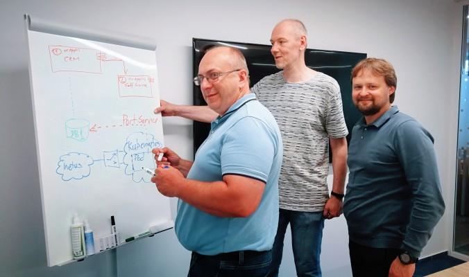 Blue Bridge IT architektai